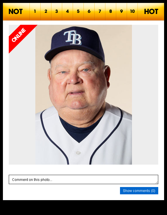 "9 Responses to ""Spotted: Don Zimmer on Hot or Not"""