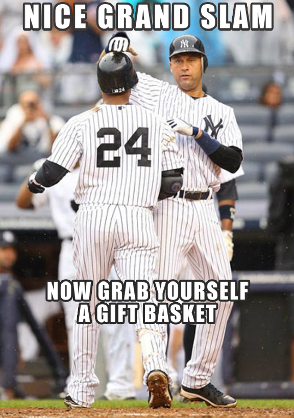 Opening Day Gift Basket: Five Classic Derek Jeter Moments — MLB ...