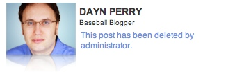 Dayn Perry is a bad, bad man