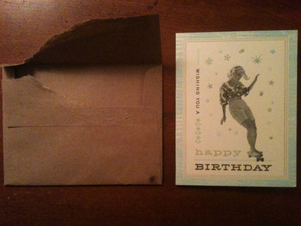 Card Opened