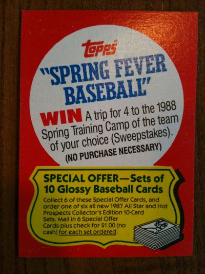 Topps Spring Training