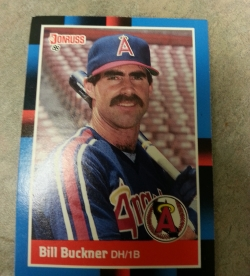 Bill Buckner grew replacement mustaches above his eyes, just in case.