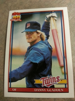 What Dan Gladden lacked in slugging ability, he made up for in mullet.
