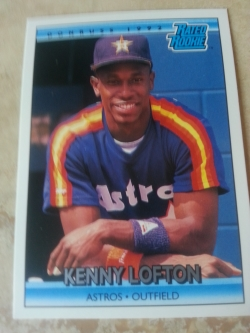 Kenny fell off the HOF ballot, but I'm still holding on to this. He's so little!