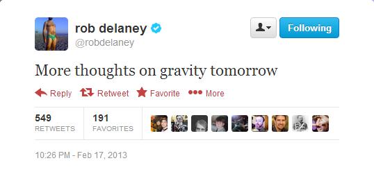 Delaney Tweet
