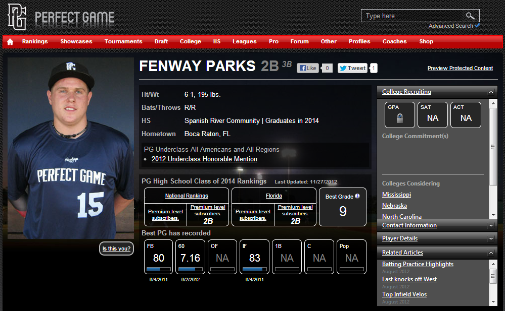 Fenway Parks