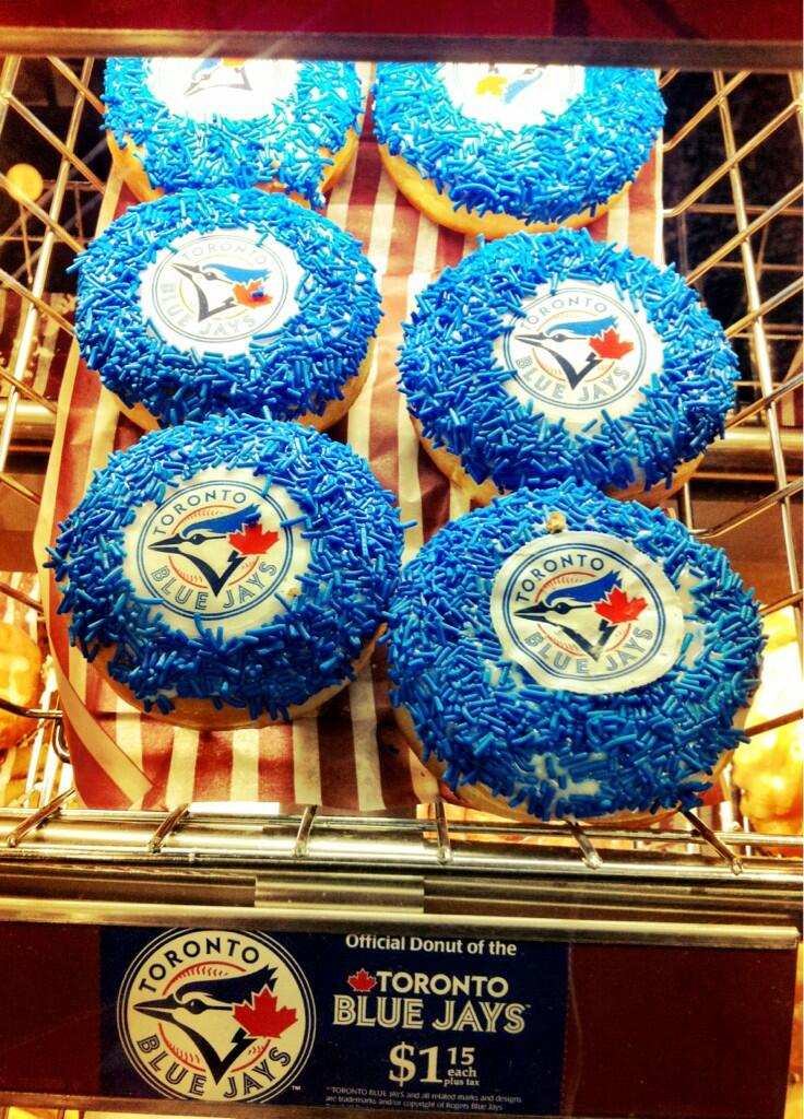 blue jays donut