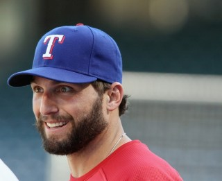 Texas Rangers Workout Session