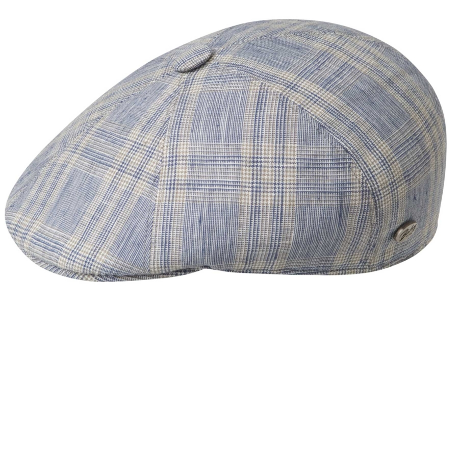 Hat-Agnelli Plaid Cap