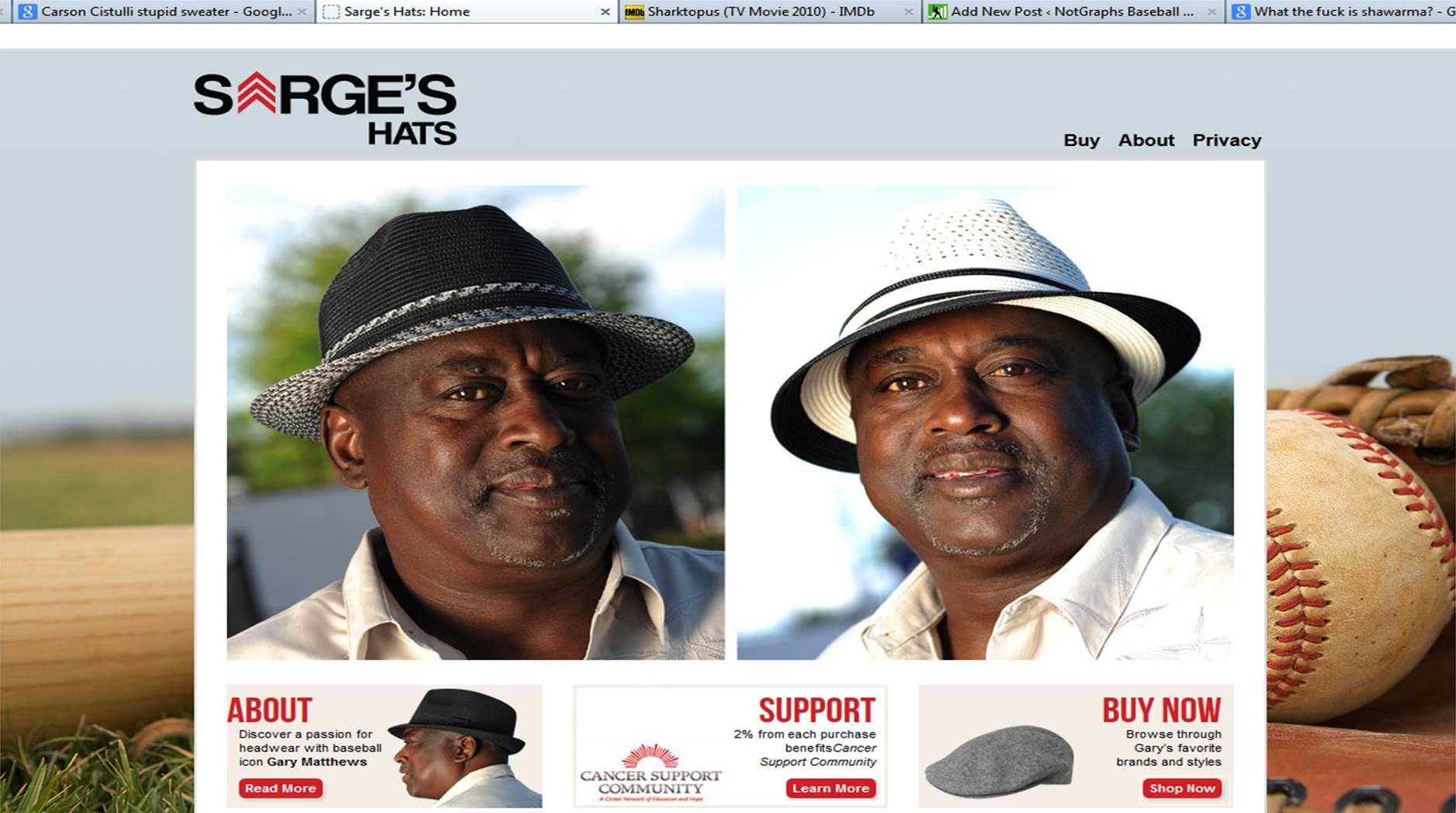 Sarges Hats