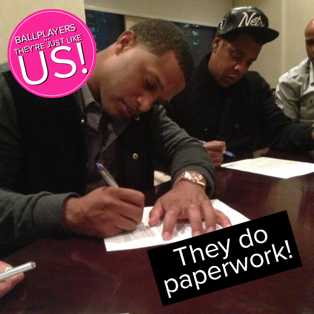 They Do Paperwork!