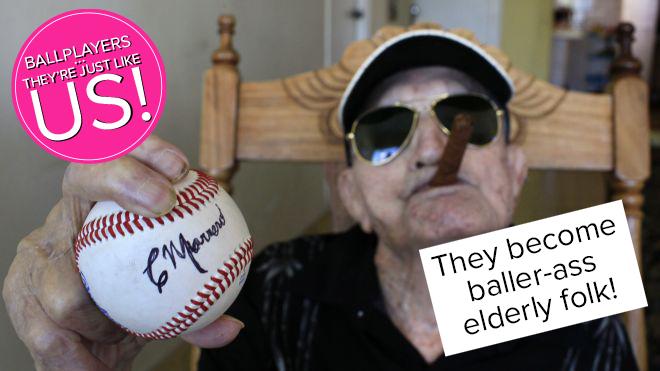 They become baller-ass elderly folk!