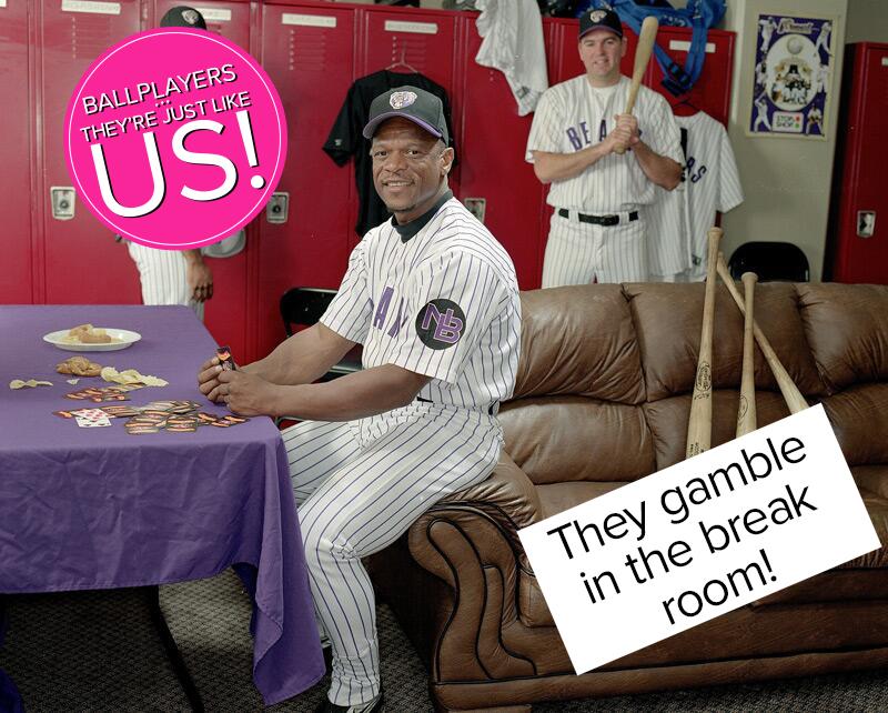 They Gamble in the Break Room!