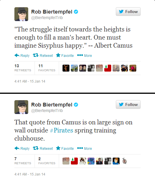 Camus Tweets