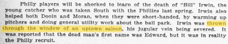 Irwin Saloon