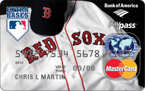 Red Sox check card 1