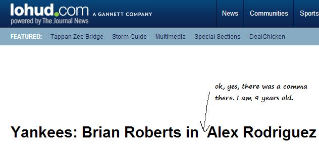 yankees headline