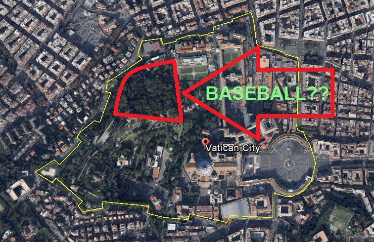 VaticanBASEBALL