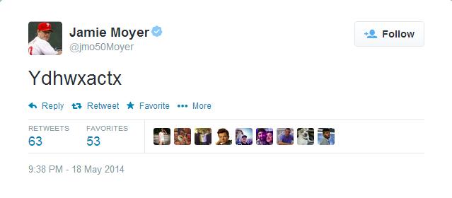 Moyer Tweet