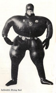 inflatable diving suit
