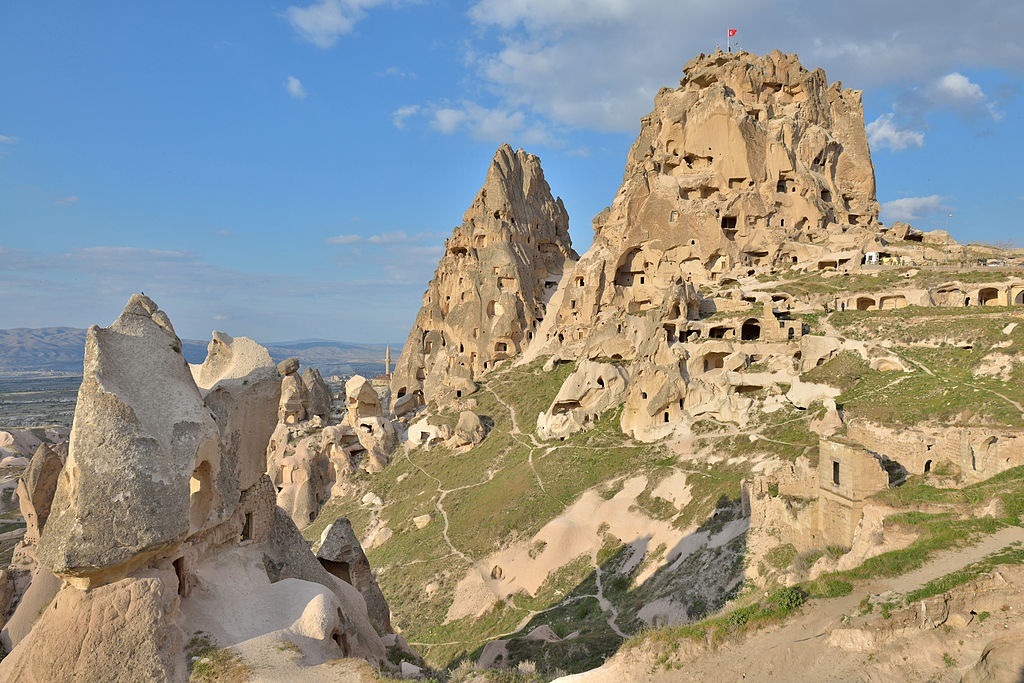 Castle Uchisar in Cappadocia